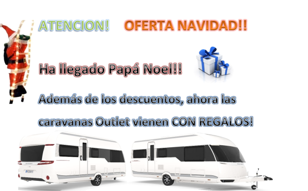 Oferta Caravanas nuevas Outlet